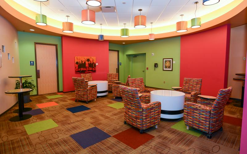 MINGLE in GATHER. Open breakout space, in common area outside of DIRECT conference room.